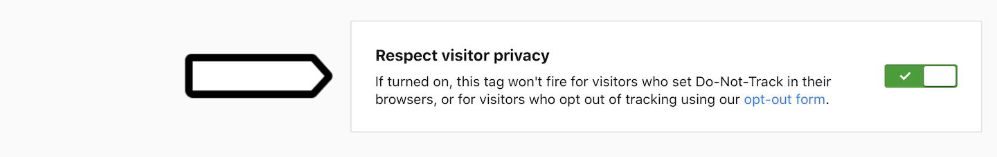 Respect visitor privacy in Piwik PRO