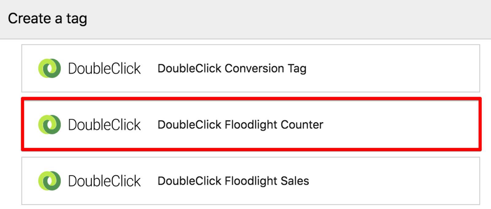 DoubleClick Floodlight Counter - Piwik PRO Help