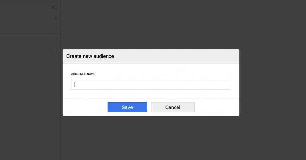 Adding a name for a new audience