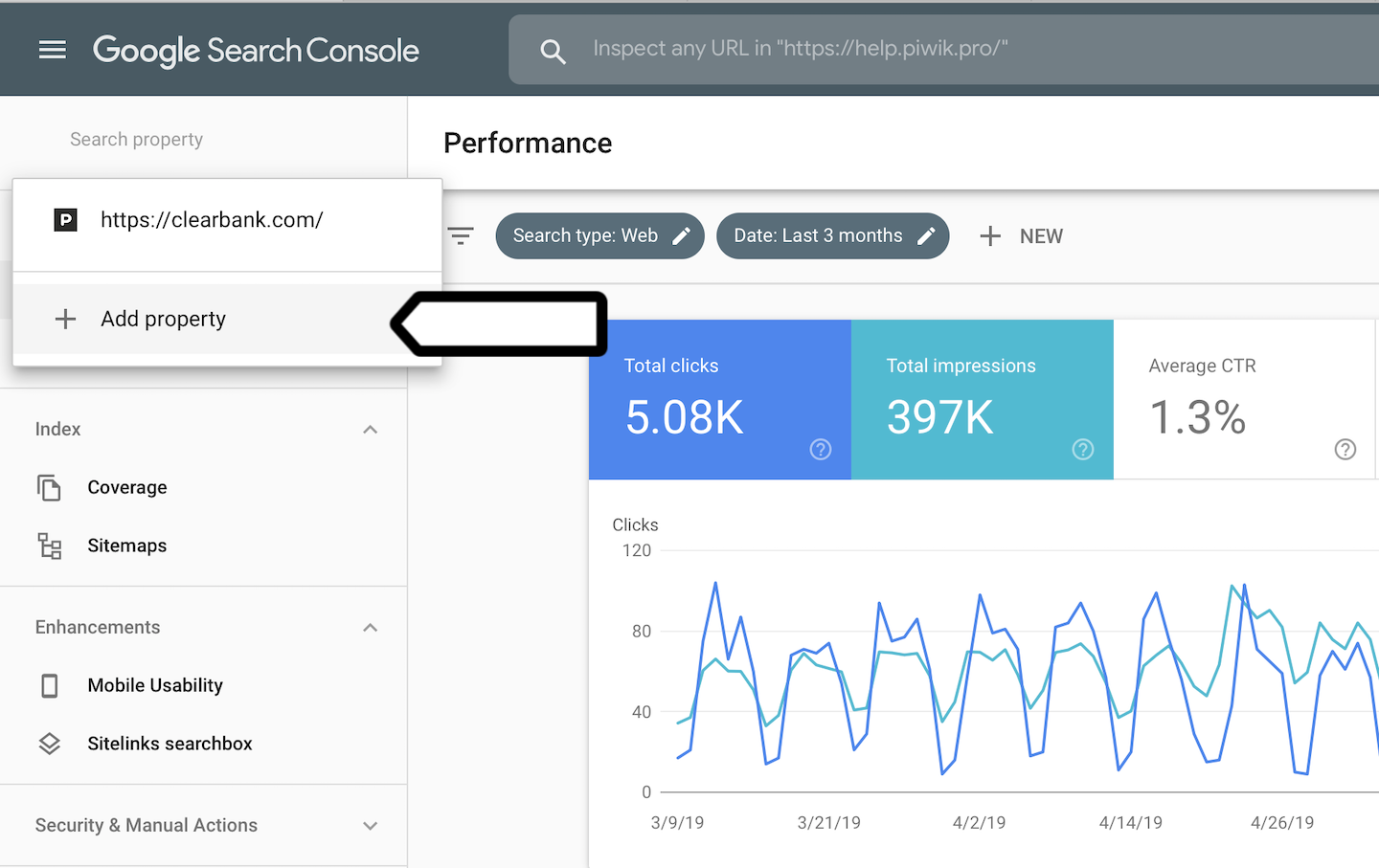 Google Search Console integration in Piwik PRO