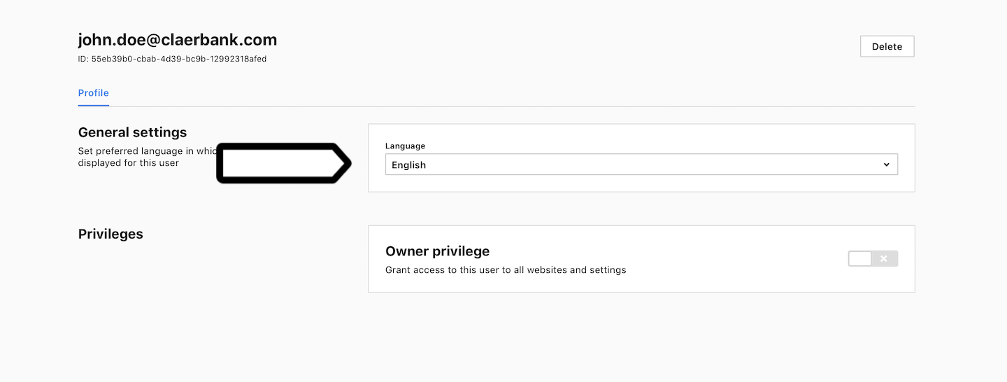 Set languages for users in Piwik PRO