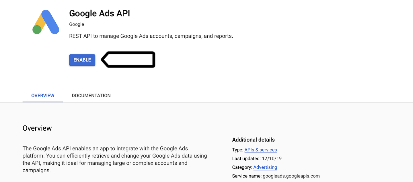 Google Ads integration (private cloud and on-premises) in Piwik PRO