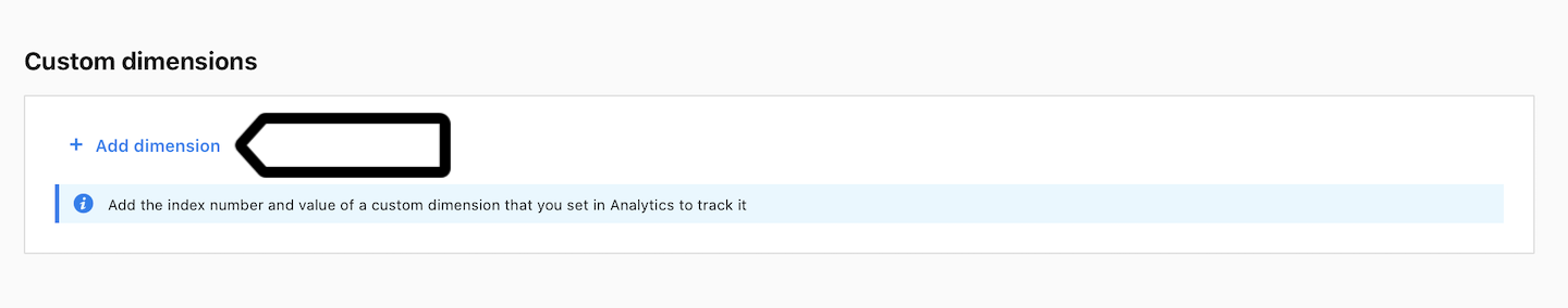 Custom dimension in Analytics in Piwik PRO