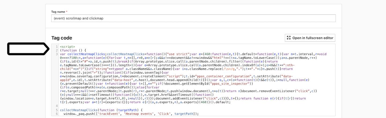 Site inspector for Chrome setup
