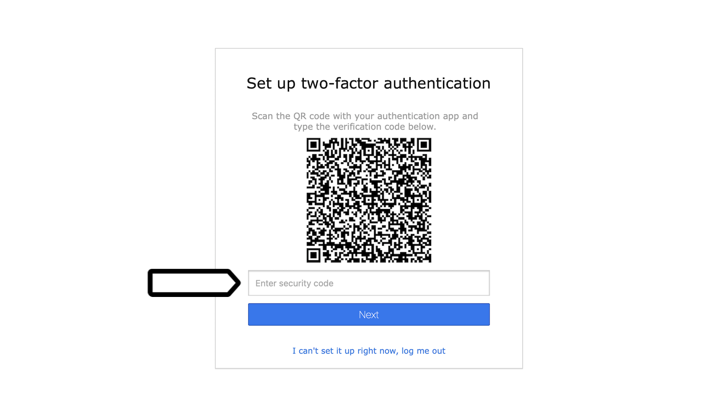 Two-factor authentication (2FA) in Piwik PRO