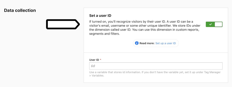 Set a user ID in Piwik PRO